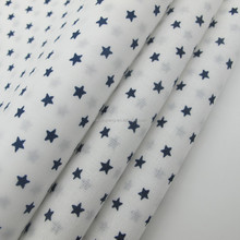 100% cotton print fabric star pattern