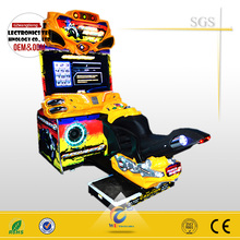 Game zone 42 LCD motor - simulator driving motor game machine