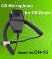 black cb microfone usado para rádio cb