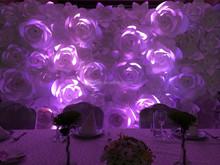 new product exquisite wedding silk flower rangoli designs
