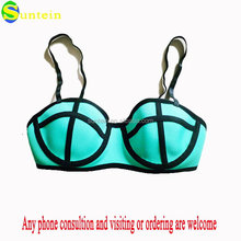 Design branded neoprene bikini triangle