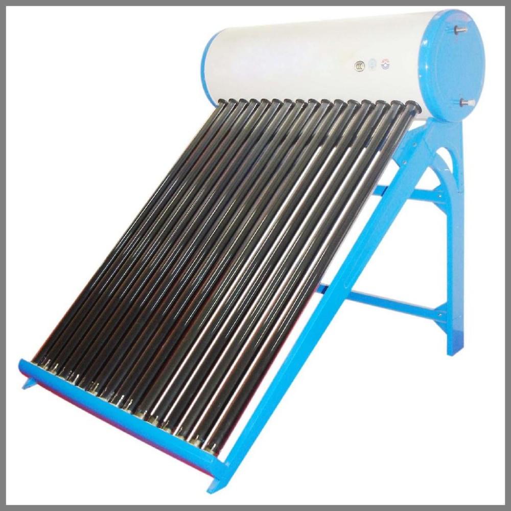 Как собрать солнечный водонагреватель