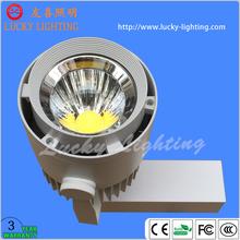 Epistar Shop COB LED track lighting 30W CE