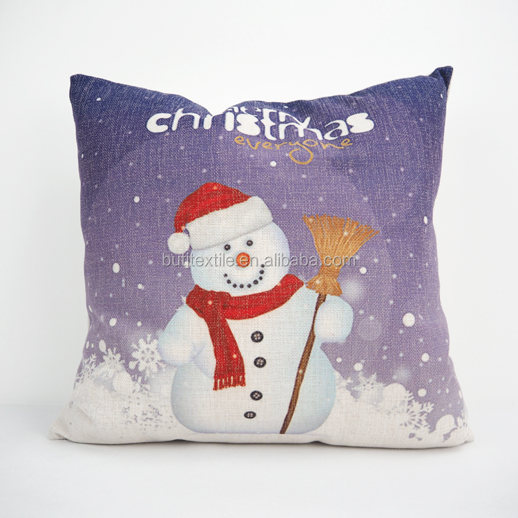 Bulk Throw Pillow Cases : Wholesale Linen/cotton Fabric Printed Pillow Case Home Decor Throw Christmas Cushion Covers ...