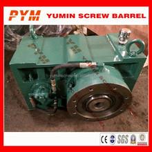 Rubber pipe extruder gear box