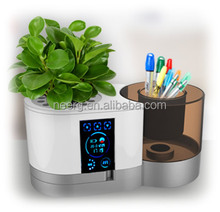 Multi-fcuntional Intelligent Flower Pot Pen Case Thermometer