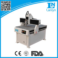 Mini high precision mini lathe cnc router for wood with rotary cnc router table