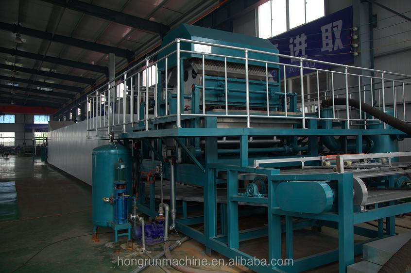 Molded Pulp Tray Pulp Molding Machine Egg Tray