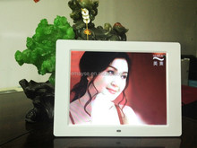 "Full HD TFT 12"" Square Digital Photo Frame, High Image/Video Quality for Advertising"