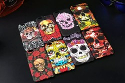 """human skeleton rubber plastic case for iphone 6 4.7"""""""