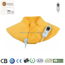 Soft Microplush Surface 100W 56X52cm Auto-off Electric Heated Pad Neck and Shoulder