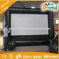Projeção traseira filme em tela inflável, tela de cinema inflável