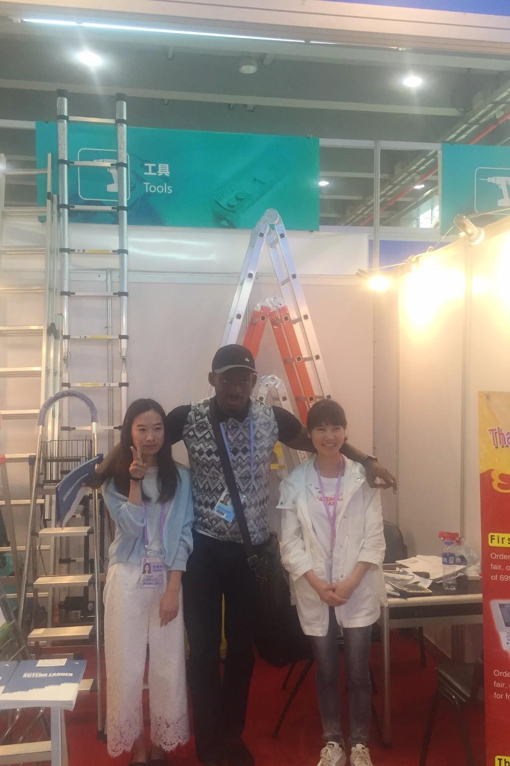Goedkope aluminium opvouwbare ladder stoel kids ladder for Goedkope kappersstoel