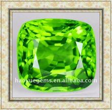 man need shining square green cubic diamond/Synthetic Cubic Zirconia Wholesale