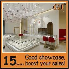 Manufacture modern style jewellry display jewelri showroom furnitur jewelery show cases