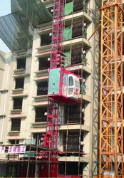 Shandong Yongli Brand SC200/200 construction passenger lift/Construction lift/passenger lift