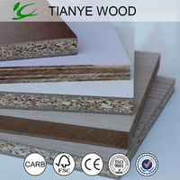 Melamine Particle Board in high quality Provided by TIANYE WOOD