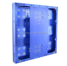 P7.62 indoor high brightness silin aluminum high refresh rental full color led display