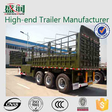 Trailer Manufacturer Shengrun 3 Axles Side Wall Cargo Trailer