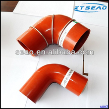 Turbo charger silicone bend hose manufactury in Hebei province