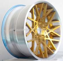 ALLOY WHEEL 3PC FORGED WHEEL RIM 22 INCH BIG OUTER CONCAVE CUSTOMIZED FITMENT AVAILABLE FOR PRADO H2 RANGE ROVER LAND CRUISER