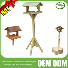 2016 new carved wooden bird feeder and Decorative Bird Cage, Hot Sale Wood Bird Nest, High quality nice Wooden Bird House