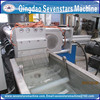 waste plastic recycling machine plastic pelletizing machine for film and bottle