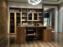 Fashionable Wooden glass Study desk