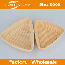 High qualtiy artisan 100% nature canne banneton basket singapore custom size
