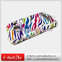 colorful zebra water transfer printing smart phone cover case