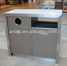 BS40 Outdoor Furniture Series 304 SS Stocked Hygiene Garbage Bin
