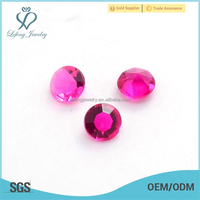 Fashion design lucky glass lockets birthstones charm jewelry wholesale