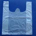 Wd1556 prático e preço justo plástico transparente t saco camisa para embalagem vegetal