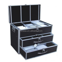Professional Novelty High-capacity Multipurpose Aluminum Tools Case With Drawers