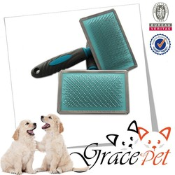Artificial Designed Pet Grooming Brush, Dog Brush