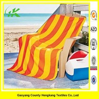 2015 new design customized microfiber printed color bar towel for beach