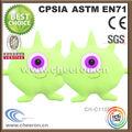 Brillante y colorido grandes ojos monstruo juguetes de peluche