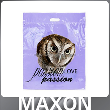 China manufacturer Luxury top quality custom made shopping plastic bag with logo