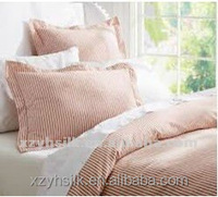 cotton/polyester plain dyed bedding sets