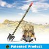 Military Survival Knives Chinese Military Folding Shovel Adventure Kit movel#DJSV-V II with Emergency Light