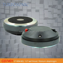 "3'' compression driver with 3"" aluminum voice coil and 1.5 inch throat"