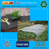 Breathable non woven weed barrier fabric