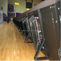 sports stadium perimeter led signs panel hanging bar for led screen