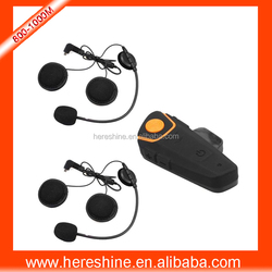 1000meter FM Radio Motorcycle Helmet Bluetooth Intercom Headset waterproof factory price