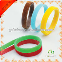 Soft nylon hook and loop cable tie for babies animal identification