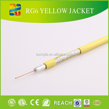 75ohm 305m wooden spool rg6 coaxial cooper cable/rg6 coaxial cable for cctv /catv/set top box