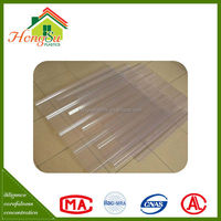 Competitive price temperature resistant clear plastic roofing panels
