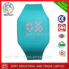 R0464 Mix Colors Simple Touch Led Watch wrist design your own watch,Silicone design your own watch