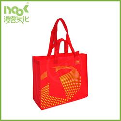 cheap promotional cheap logo non woven shopping bags