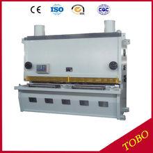 Máquina de la placa de metal corte, placa de metal de la máquina cizalla guillotina, máquina mecánica cizallas para metales